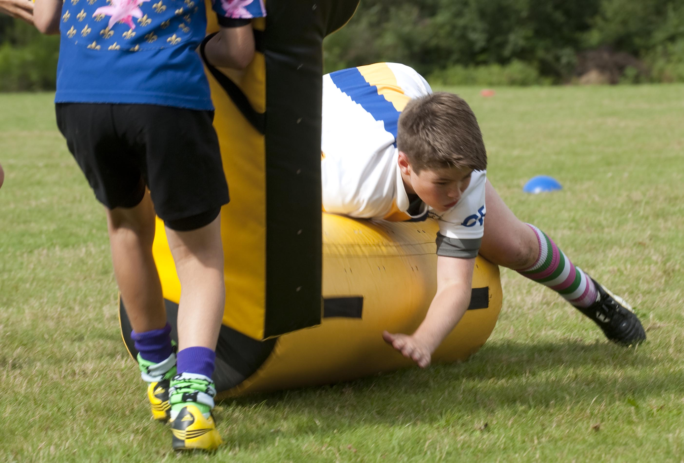 Rugby Camp Tackling France