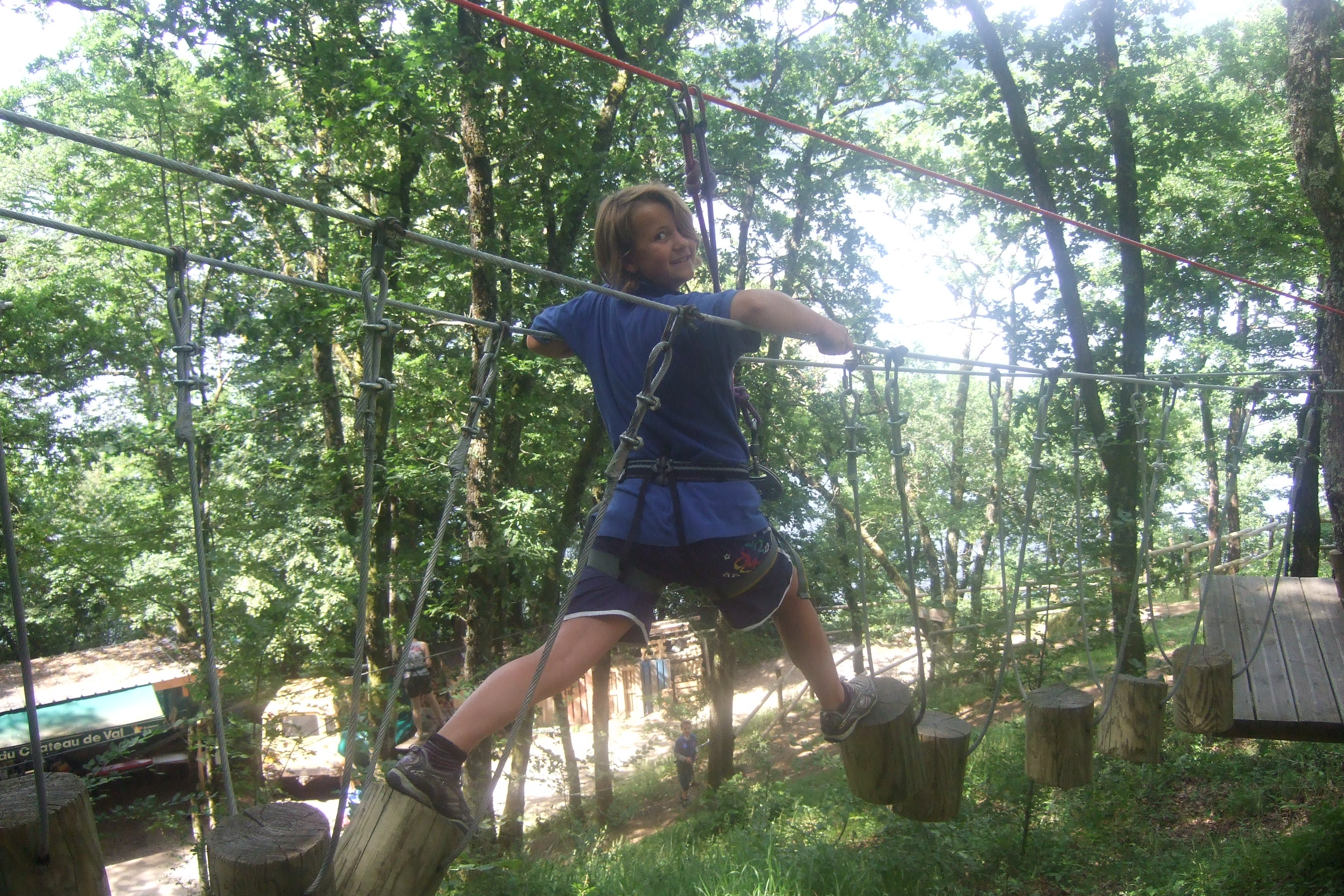 high ropes course france