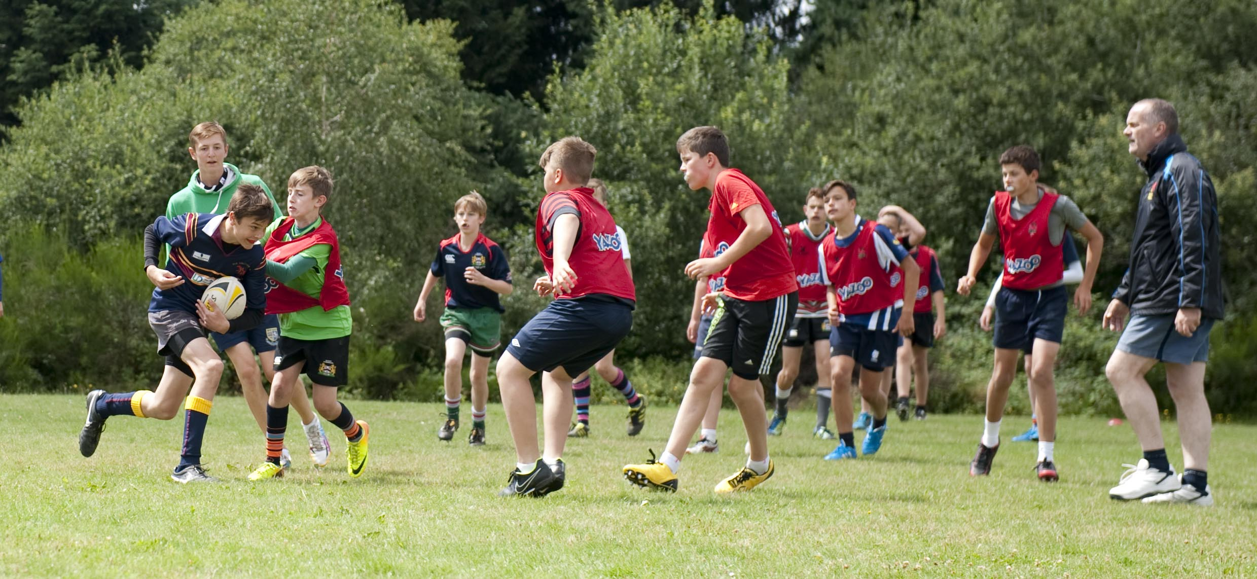 Rugby Camp Coaching