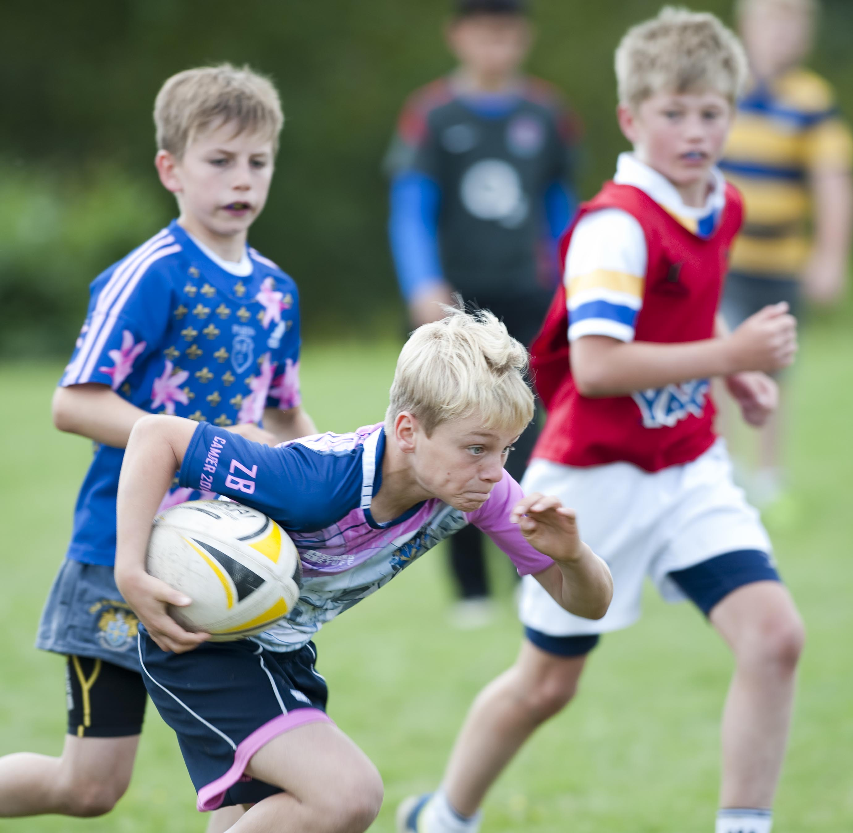 Rugby Camp France Sprinting