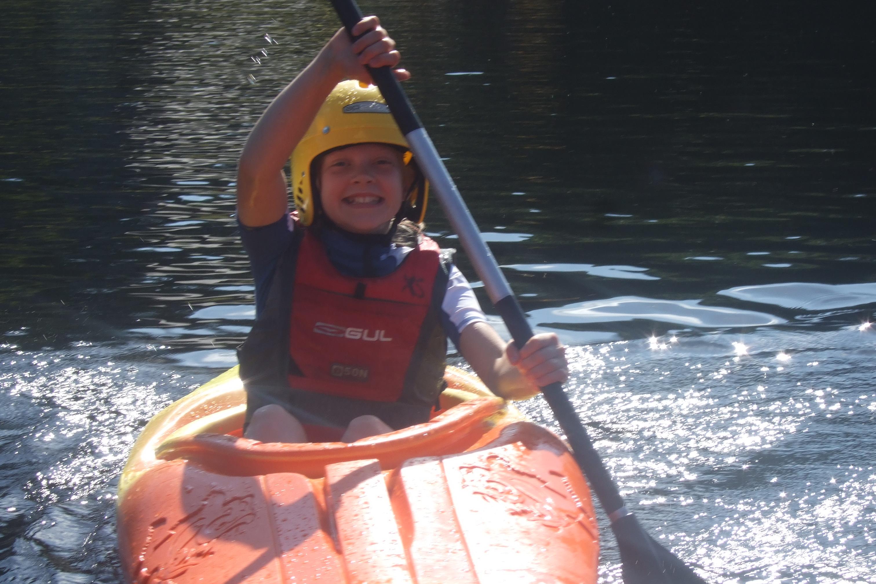 Kayaking Lake France