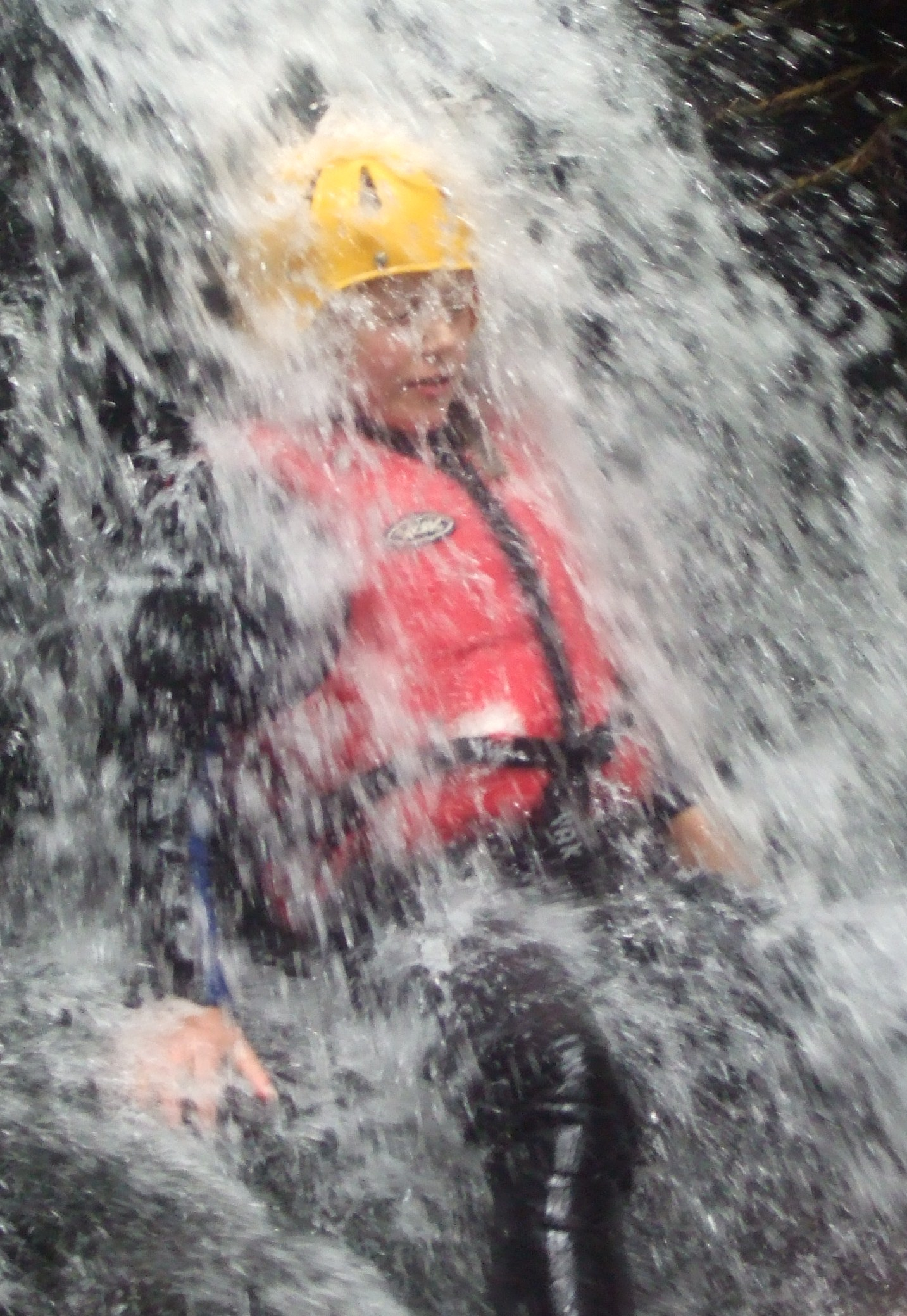 Gorge Walking Stream Scramble Waterfall