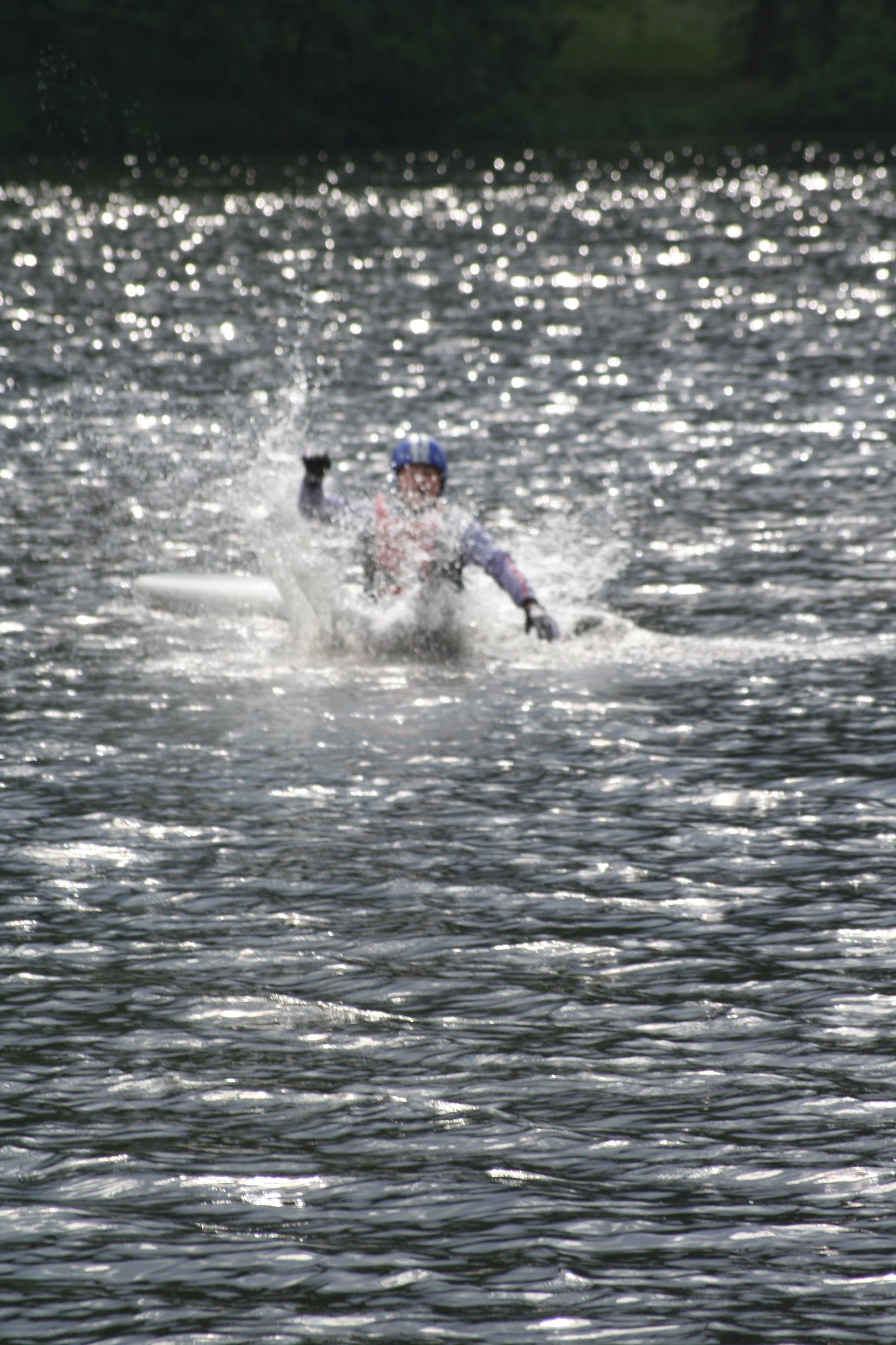 Boarding Splash Lake France
