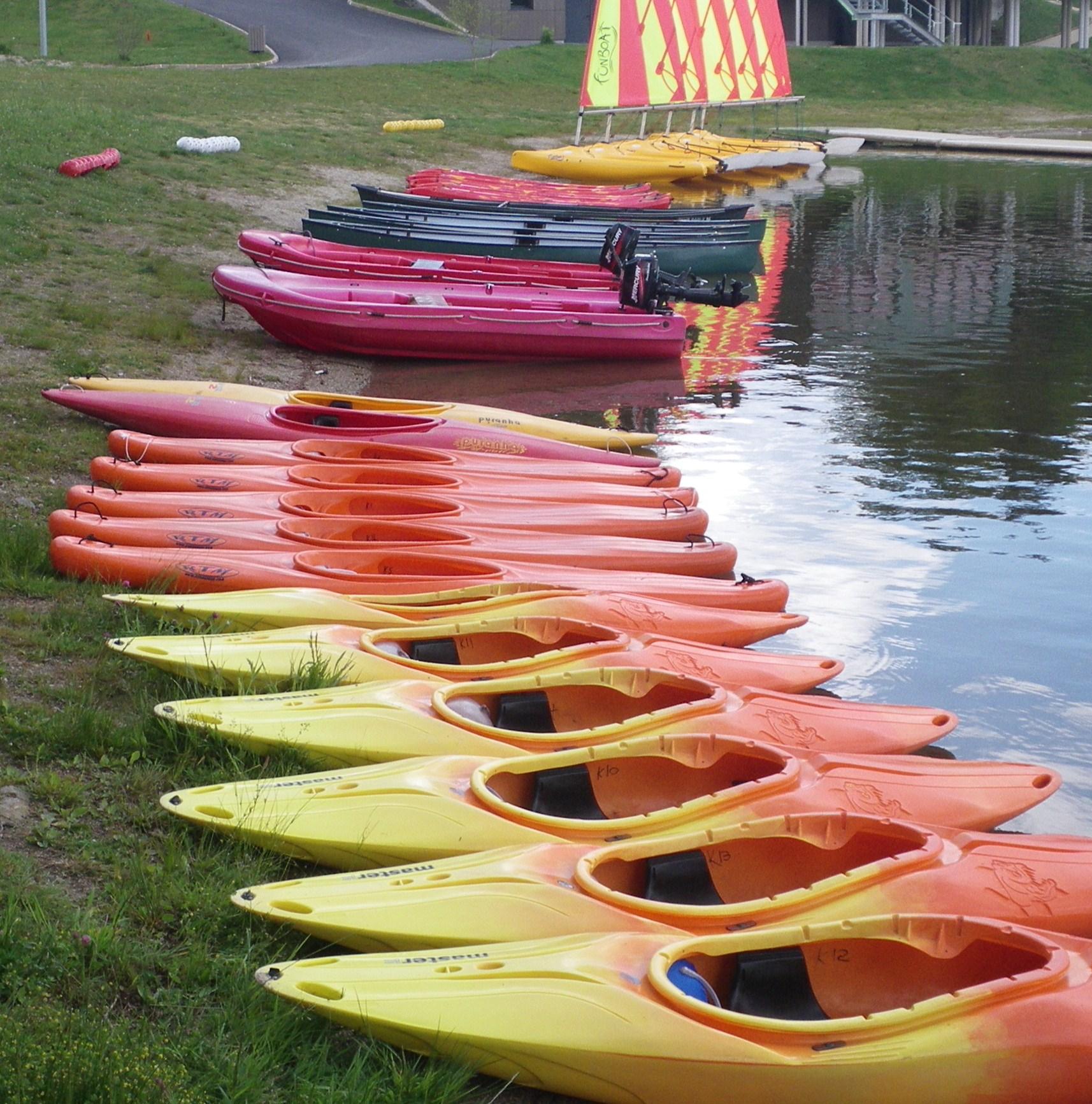 Kayaking Canoeing Sailing Boarding