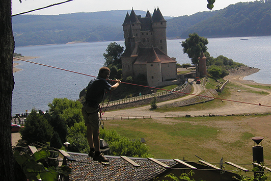 High Ropes Course Chateau du Val France